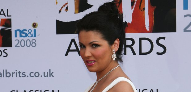 Anna Netrebko at the Classical Brits 2008