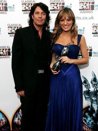 Laurence Llewelyn Bowen and Nicola Benedetti at th
