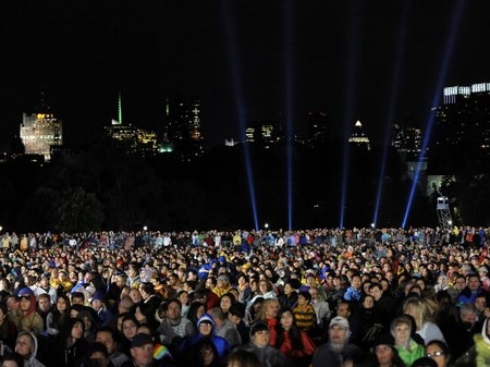 Andrea Bocelli in Central Park