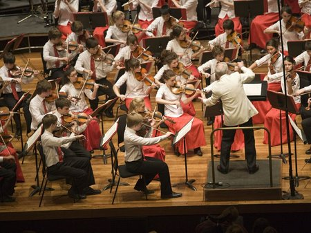 Ntional Children's Orchestras Christmas Concert
