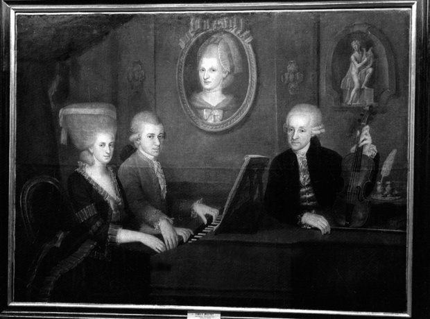 Mozart images for gallery