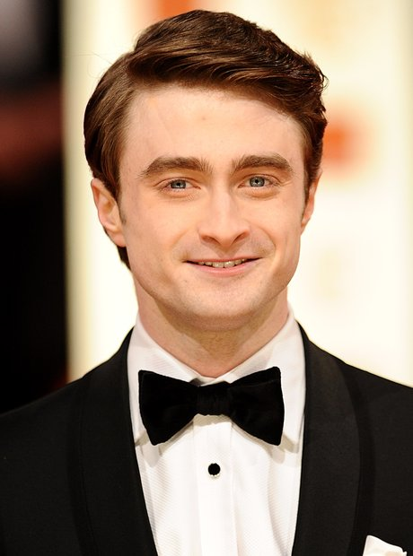 Daniel Radcliffe arrives at the BAFTAs 2012 Awards