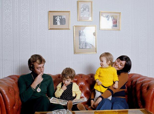 Robin Gibb through the years