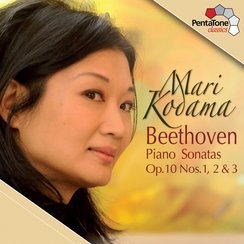 Mari Kodama Beethoven piano Sonatas Nos 1-3