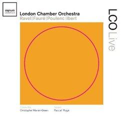 Ravel, Fauré, Poulenc, Ibert ondon Chamber Orchest