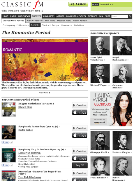 Introducing the new Classic FM website