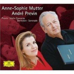 Previn Violin Concerto Anne-Sophie Mutter LSO Bost