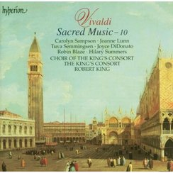 Vivaldi Sacred Music Vol. 10 The King's Consort Ro