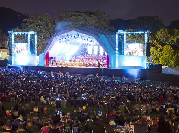 Classic FM Opera in the Park July 2012
