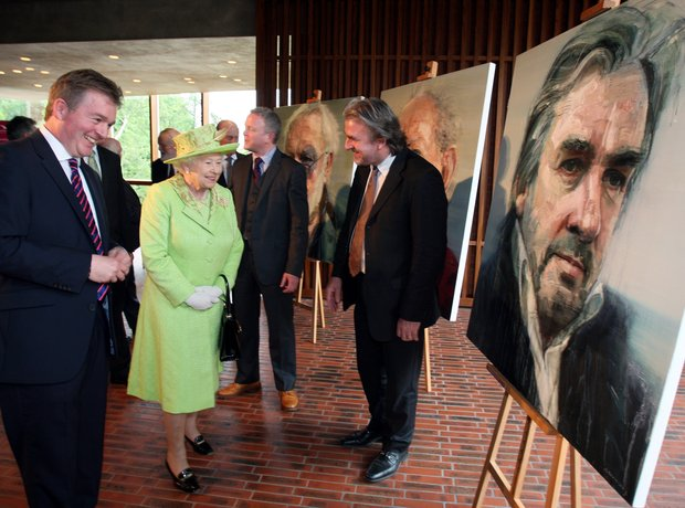 Barry Douglas and The Queen