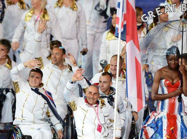 The 2012 Paralympics Opening Ceremony, Paralympics