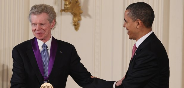 Van Cliburn pianist with Obama