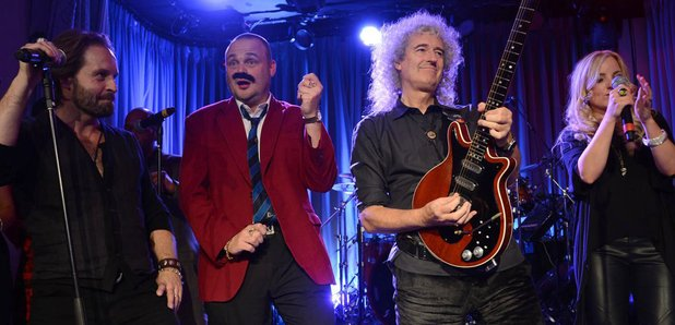 Alfie Boe and Brian May