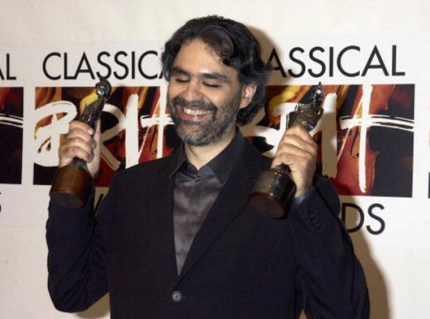 Andrea Bocelli - Outstanding Contribution to Music