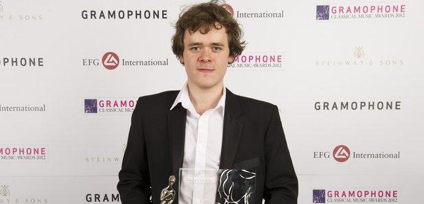 Benjamin Grosvenor at the Gramophone Awards 2012