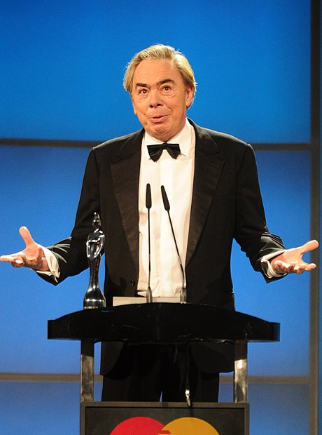 Lord Andrew Lloyd Webber  on stage at the Classic
