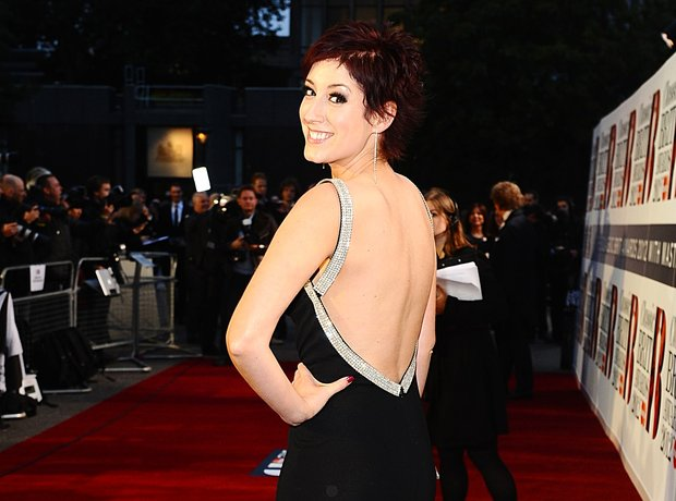 Connie Fisher attends the Classic BRIT Awards 2012
