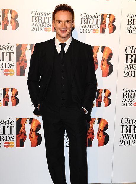 Russell Watson at the Classic BRIT Awards 2012