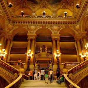 marble staircase paris opera