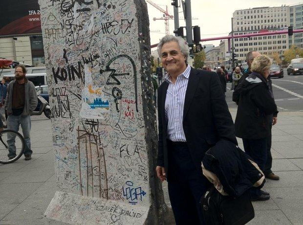 ohn Suchet's visit to Berlin