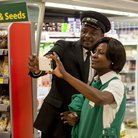 Zadok the Priest: supermarket flash mob
