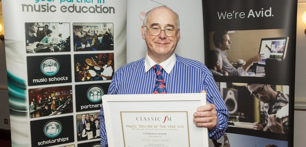 News - Music Teacher Of The Year - Events - Classic FM