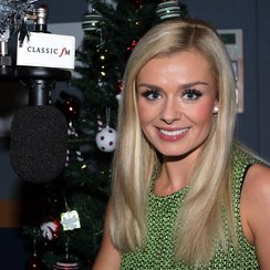 Katherine Jenkins in the Classicfm studio