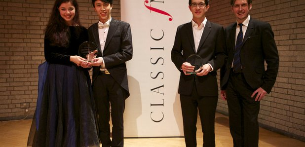 RNCM James Mottram piano comp winners