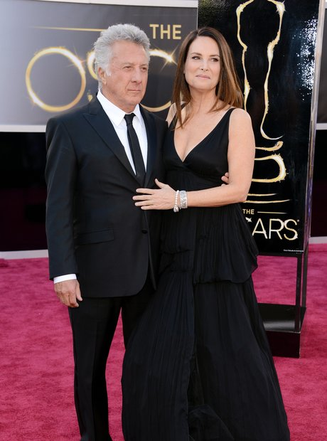 Dustin Hoffman and Lisa Hoffman attends the Oscars