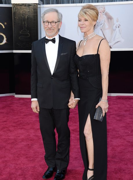 Steven Spielberg and Kate Capshaw attend the Oscar