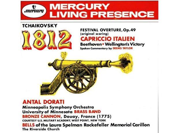 Tchaikovsky 1812 Overture Opus 49 album cover