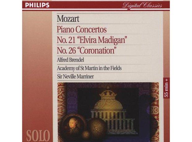 Mozart Piano Concerto No.21 in C major K467 album cover