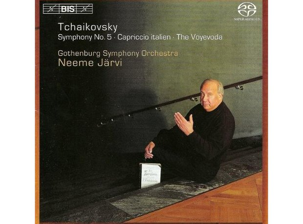 Tchaikovsky Symphony No.5 in E minor Opus 64 album cover