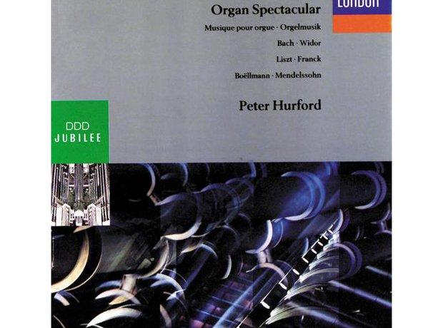 Widor Organ Symphony No.5 in F minor album cover