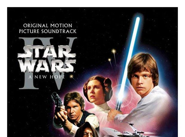Williams Star Wars (soundtrack) album cover