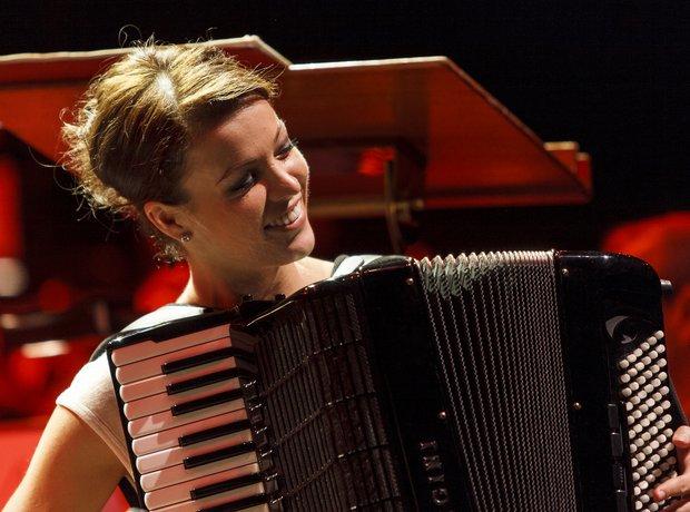 Ksenija Sidorova Classic FM Live 2013 rehearsals 3