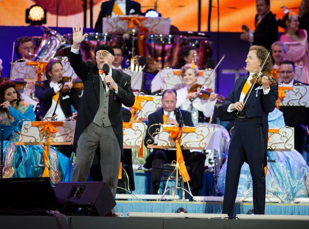 André Rieu at the Dutch Coronation