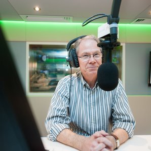 Nick Bailey Classic FM studio