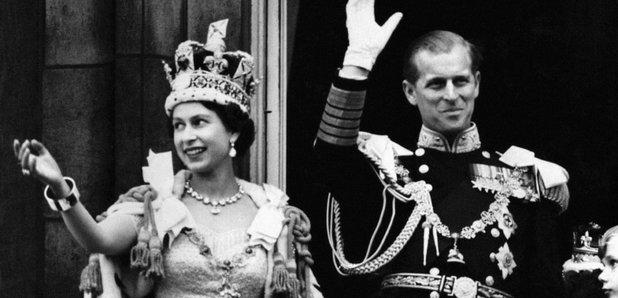 Queen coronation balcony