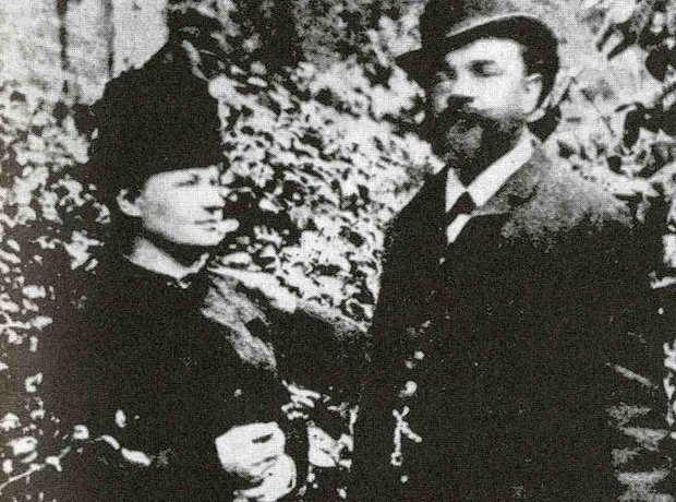 Dvorak and wife Anna