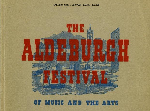 Benjamin Britten Aldeburgh programme