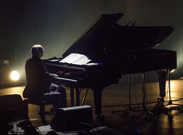 Einaudi at the iTunes Festival