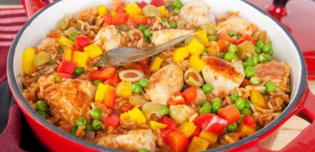 Arroz con pollo Chicken with rice