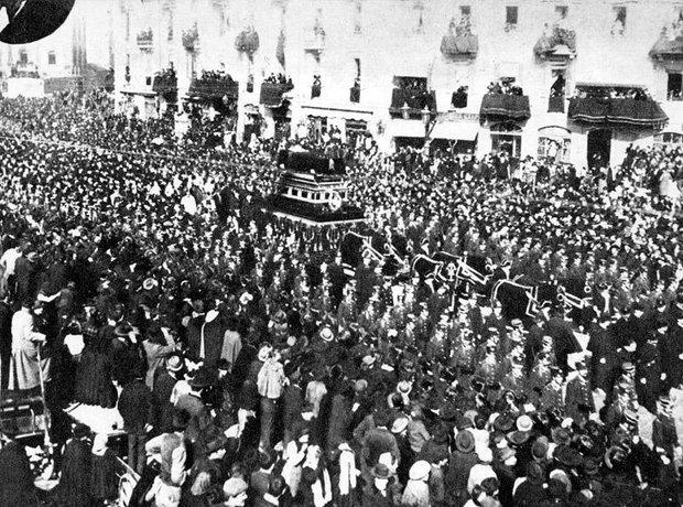 Giuseppe Verdi funeral 1901