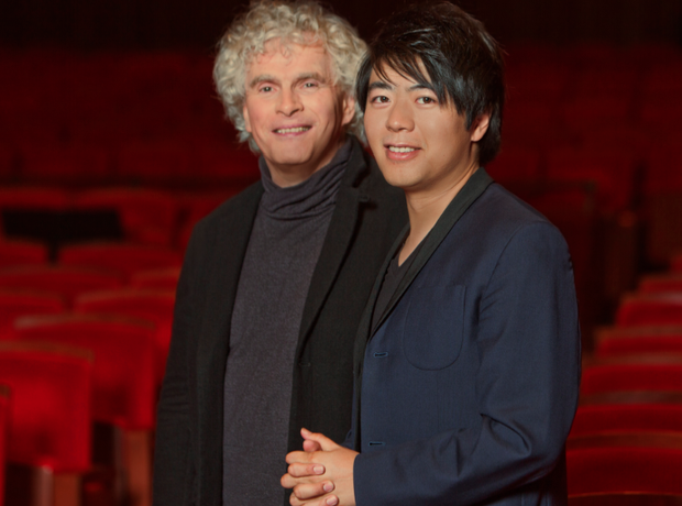 Lang Lang and Simon Rattle