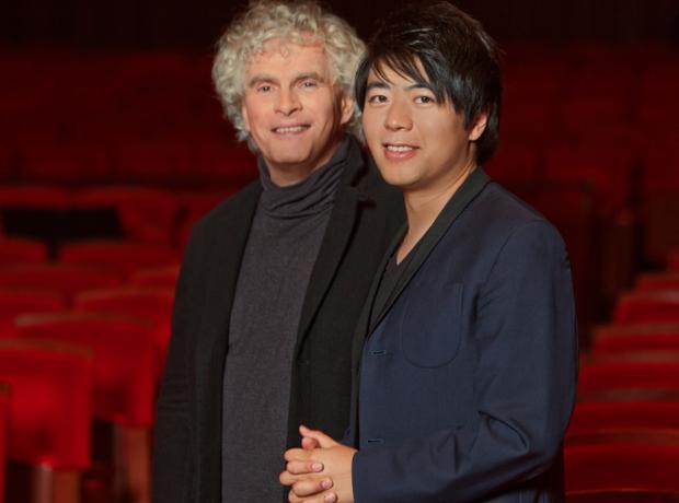 Lang Lang and Simon Rattle