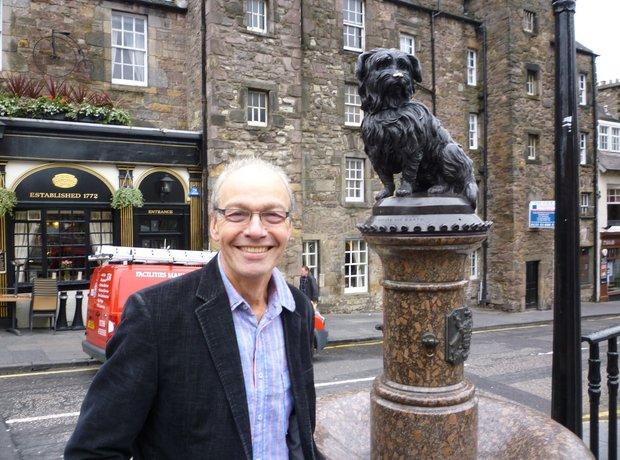 John Brunning Greyfriars Bobby Edinburgh