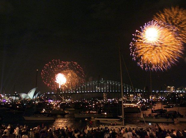 sydney opera house 40th birthday