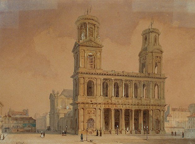 Eglise Saint Sulpice Paris