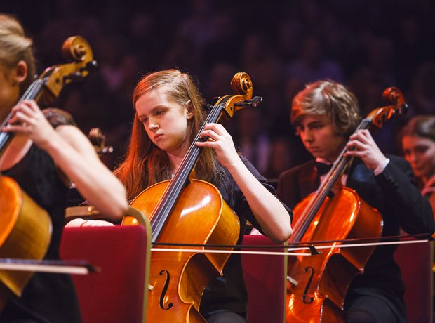 Berkshire Youth Orchestra close the show